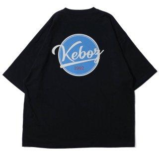 KEBOZ BB LOGO S/S TEE BLACK
