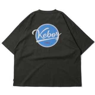 KEBOZ BB LOGO S/S TEE FOREST GREEN