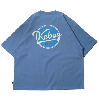 KEBOZ BB LOGO S/S TEE SLATE BLUE