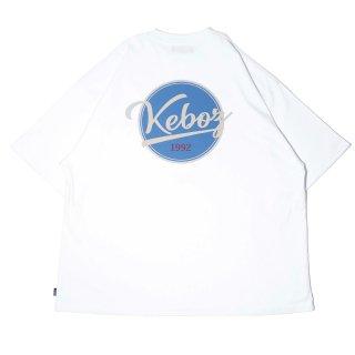 KEBOZ BB LOGO S/S TEE WHITE