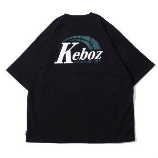 KEBOZ AR LOGO S/S TEE BLACK
