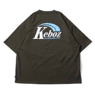 KEBOZ AR LOGO S/S TEE FOREST GREEN