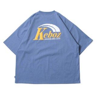 KEBOZ AR LOGO S/S TEE SLATE BLUE