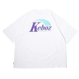 KEBOZ AR LOGO S/S TEE WHITE