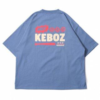 KEBOZ KRG LOGO S/S TEE SLATE BLUE
