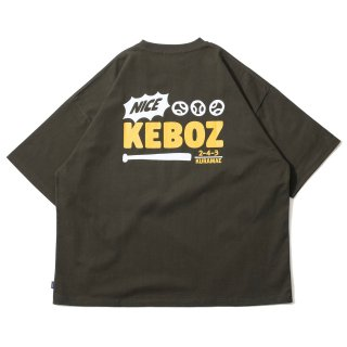 KEBOZ KRG LOGO S/S TEE FOREST GREEN