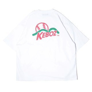 KEBOZ KT LOGO S/S TEE WHITE