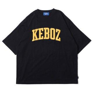 KEBOZ UC LOGO S/S TEE BLACK
