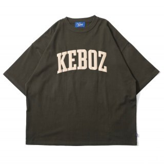 KEBOZ UC LOGO S/S TEE FOREST GREEN