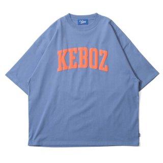 KEBOZ UC LOGO S/S TEE SLATE BLUE
