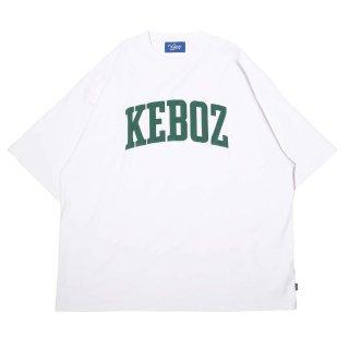 KEBOZ UC LOGO S/S TEE WHITE