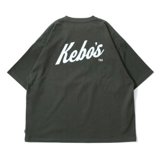 KEBOZ SNL LOGO S/S TEE FOREST GREEN