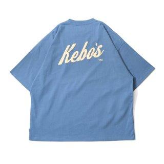 KEBOZ SNL LOGO S/S TEE SLATE BLUE