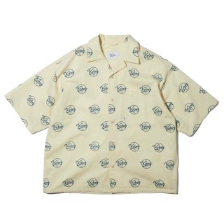 KEBOZ x FREAK'S STORE SPECIAL LOGO SHIRTS SHORT SLEEVE OFF WHITE
