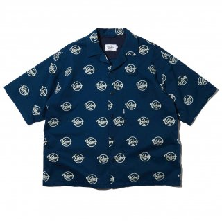 KEBOZ x FREAK'S STORE SPECIAL LOGO SHIRTS SHORT SLEEVE BLUE