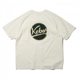 KEBOZ x FREAK'S STORE SPECIAL BBLOGO  SHORT SLEEVE TEE OFF WHITE