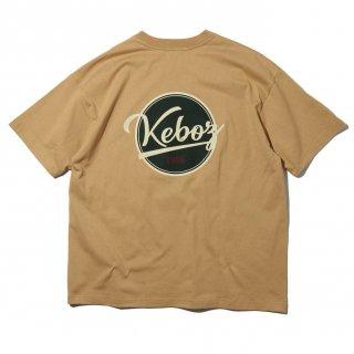 KEBOZ x FREAK'S STORE SPECIAL BBLOGO  SHORT SLEEVE TEE BEIGE