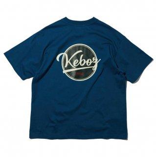 KEBOZ x FREAK'S STORE SPECIAL BBLOGO  SHORT SLEEVE TEE BLUE