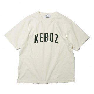 KEBOZ x FREAK'S STORE SPECIAL ARCH LOGO  SHORT SLEEVE TEE OFF WHITE