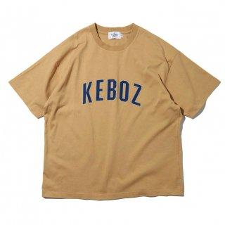KEBOZ x FREAK'S STORE SPECIAL ARCH LOGO  SHORT SLEEVE TEE BEIGE