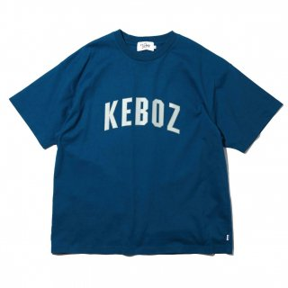 KEBOZ x FREAK'S STORE SPECIAL ARCH LOGO  SHORT SLEEVE TEE BLUE