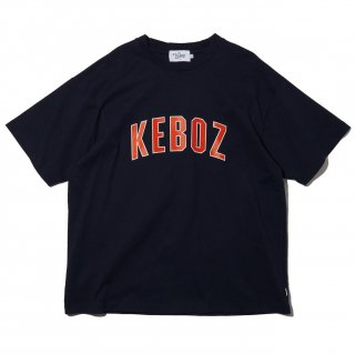 KEBOZ x FREAK'S STORE SPECIAL ARCH LOGO  SHORT SLEEVE TEE NAVY