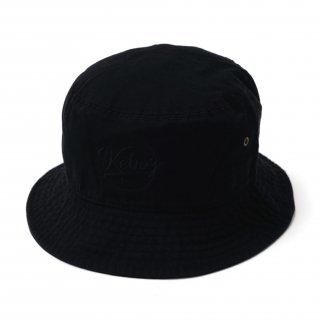 KEBOZ BB LOGO BACKET HAT BLACK
