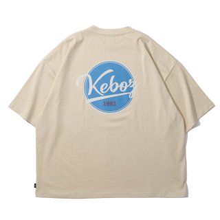 KEBOZ BB LOGO S/S TEE CREAM