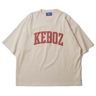 KEBOZ UC LOGO S/S TEE CREAM
