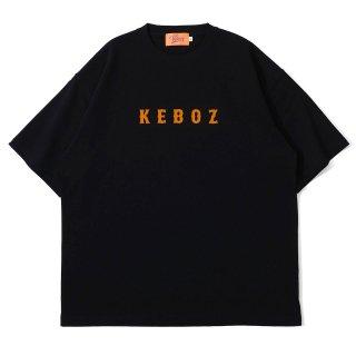 KEBOZ MF HEAVY WEIGHT TEE BLACK