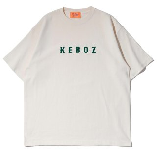 KEBOZ MF HEAVY WEIGHT TEE CREAM