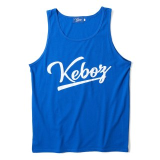 KEBOZ LOGO TANK TOP BLUE