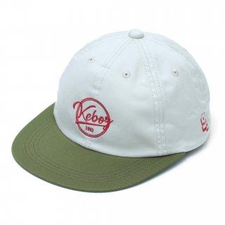 KEBOZ COTTON TWILL CAP BEIGE/OLIVE