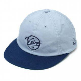 KEBOZ COTTON TWILL CAP GREY/NAVY