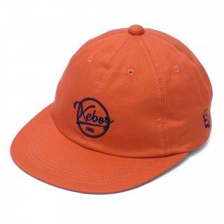 KEBOZ COTTON TWILL CAP ORANGE