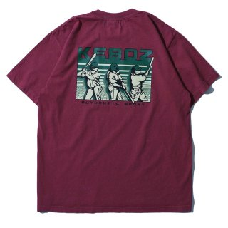 KEBOZ TB HEAVY WEIGHT TEE WASHED PINK