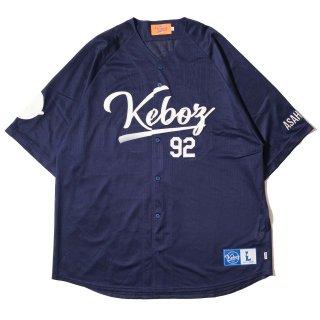 KEBOZ MESH BASEBALL SHIRTS  NAVY