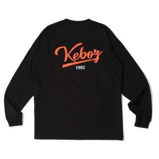 KEBOZ ICON LOGO L/S TEE BLACK