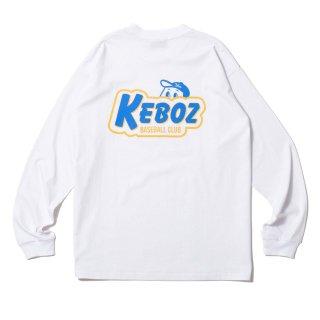 KEBOZ KBC L/S TEE WHITE