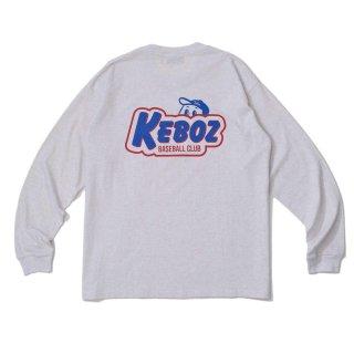 KEBOZ KBC L/S TEE ASH GREY