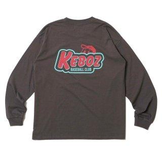 KEBOZ KBC L/S TEE DARK GREY