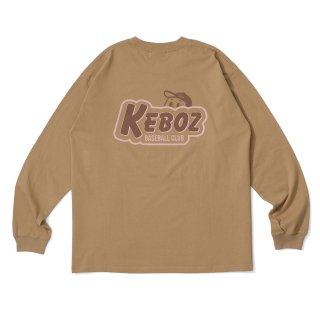 KEBOZ KBC L/S TEE KHAKI