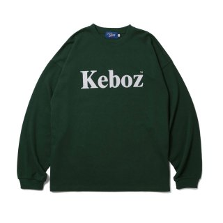 KEBOZ FKF HEAVY WEIGHT KBIG L/S FOREST GREEN