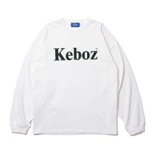 KEBOZ FKF HEAVY WEIGHT KBIG L/S WHITE