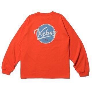KEBOZ BB LOGO HEAVY WEIGHT KBIG L/S ORANGE