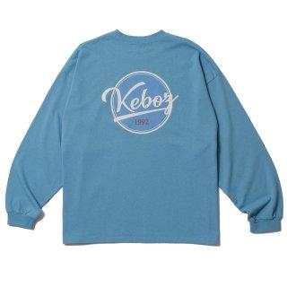 KEBOZ BB LOGO HEAVY WEIGHT KBIG L/S SLATE BLUE