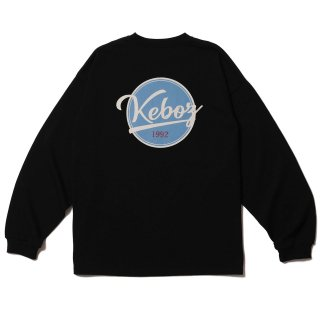 KEBOZ BB LOGO HEAVY WEIGHT KBIG L/S BLACK