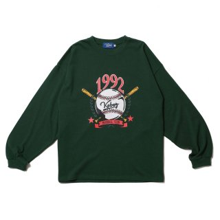 KEBOZ WSV HEAVY WEIGHT KBIG L/S FOREST GREEN