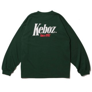 KEBOZ TM HEAVY WEIGHT KBIG L/S FOREST GREEN
