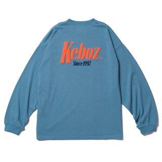 KEBOZ TM HEAVY WEIGHT KBIG L/S SLATE BLUE